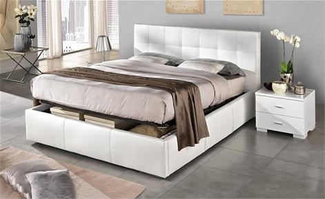 Perch scegliere un letto contenitore la design - Letto matrimoniale contenitore mondo convenienza ...